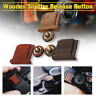 Wooden Wood Shutter Button + Hot Shoe Cover For Fuji FujiFilm X Series Camera