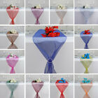 "14"" x 108"" Organza Table Top RUNNERS Wedding Party Dinner Reception Decorations"