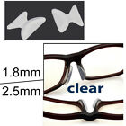 4 Pairs Anti-slip Silicone Stick On Nose Pads For Eyeglasses Sunglasses 4-TYPES!