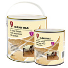 LTP Clear Wax - Wall and Floor Sealer and Polish for Tiles, Stone, Brick