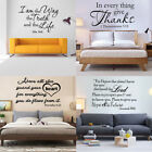 bible scripture vinyl wall verse home removable