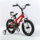 Bicycle for Kids Red 12 Inch Little Boys Girls First Training Wheel Cycle Bike