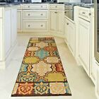 KITCHEN RUGS CARPET AREA RUG RUNNERS OUTDOOR CARPET COLORFUL PATIO RUNNER RUGS ~