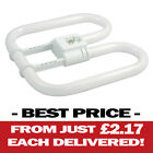 3 OR 6 PACK 2D 4 PIN 16W FLUORESCENT TUBE 2700K 220-240V AC LONG LIFE 10000HR