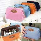 Waterproof Cosmetic Makeup Bag Pencil Case Storage Pouch Pur