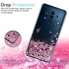 For Huawei P8 P9 P10 Lite P20 Pro Case Glitter Liquid Quicksand Clear Soft Cover