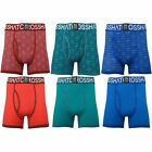 Mens Boxer Shorts Crosshatch Syntho 2 Multipack Underwear Trunks