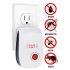 NE_ Ultrasonic Plug-in Electronic Pest Reject Repeller Anti Mosquito Insect Ki