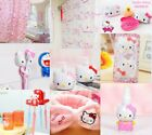 Внешний вид - Cute Hello Kitty Bathroom Shower Curtain Adhensive Hook Soap Box Bath Acceossory