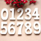 New Wooden Digits Arabic Numbers Free Standing Hanging Wall Home Wedding Decor