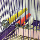 Cage Parakeet Parrot Bird Rod Paw Clean Budgie Grinding Toys Hanging Chew Swing