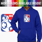 Star Wars BB-8 NBA Basketball Parody Robot Unisex Pullover Hoodie Jacket Sweater $33.64 USD on eBay