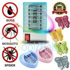 220V LED Bug Zapper Insect Zapper Electric Fly Swatter Lamp Mosquito Killer US