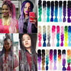 100g/Piece Crochet Braids Box Braids Hair Ombre Braiding Hair Hair Extensions