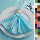 "17"" Polyester NAPKINS Wedding Party Kitchen Catering Table Top Decorations"
