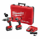 Milwaukee M18 FUEL Cordless 2-Tool Combo Kit (2897-22)