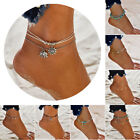 Boho Ankle Bracelet  Womens Fashion Beach Anklet Different beaded, gold, silver,
