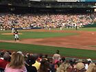 1 - 2 Tickets on AISLE 107 Row B! Nationals @ Pirates PNC Park! 7/10