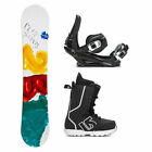 2B1 Play Teal Fastplant Kids Complete Snowboard Package