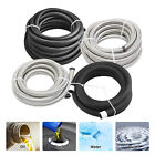 Nylon and Stainless Steel Braided Fuel Oil Gas Line Hose AN4/AN6/AN8/AN10/AN12 фото