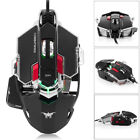 4000DPI Optical Wired Professional Gaming Mouse Programmable 10Buttons Breathing