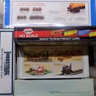 Assorted Box Hopper Flat Reefer Tank Stock Gondola Cars HO NIB