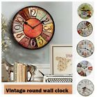 Child DIY Small Large Number Wall Clock 3D Mirror Surface Sticker Home Decor US