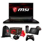 """MSI GS65 Stealth THIN 15.6"""" (144Hz) Core i7-8750H GTX 1070 1060 Gaming Laptop"""