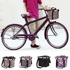Pet Dog Bicycle Carrier Bike Basket Bag- Foldable - Detachable / Free shipping