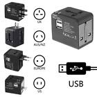 Universal Wall Charger Power Adapter Electric Converter World USB Travel Plug