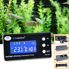 Thermostat Temperature Controller Day & Night Dimming For Reptile Aquarium Tank