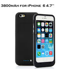 Portable Charger Case External Battery Rechargeable Backup Cover for iPhone 6 6s