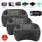 Qty. 1-100pc Mini WIFI Wireless keyboard 2.4G Touchpad for Android TV box LOT SA