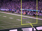New York Jets vs Vikings 10/21 - 2 Great Lower Seats - Row 9 - Mobile Tickets on eBay