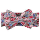 Bohemian Fashion Print Flower Bowknot Headband Hair Accessories For Babies 02BA