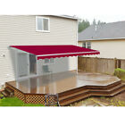 ALEKO 16 ft. W x 10 ft. D Retractable Motorized Patio Awning