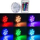 Hot Sale Submersible 10 LED Light RGB for Vase Wedding Party Fish Tank Decors
