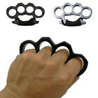 Alloy Knuckles Ring Four Finger Emergency Self Defense Outdoor Dusters Protector