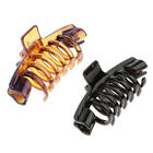 Womens Hanger Shape Hair Claw Clamps Clips Grips Styling Too