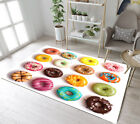 Floor Rug Mat Various Colorful Wheat Donut Bedroom Carpet Living Room Area Rugs