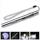 8000LM Pocket Tactical Flashlight Torch LED Pen T6 USB Rechargeable Light TR
