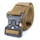 NEW Men SWAT Military Equipment Paintball Army Belt Heavy Duty Soldier Combat