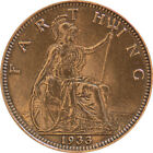 FARTHING COIN (BRITANNIA) - 1911 to 1936 - GEORGE V - Choose Your Year