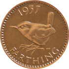 FARTHING COIN (WREN) - 1937 to 1952 - GEORGE VI - Choose Your Year