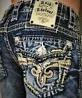 New Men's Rock Revival Scion Slim Bootcut 27 28 29 30 31 33 Regular Long