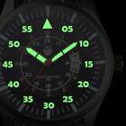 Military Mens Watch Stainless Steel Luminous Dial Date Luxury Sport Wrist Watch image