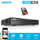 ANNKE 16CH 8CH 4CH 1080P Lite DVR H.264+ Recorder HDMI Email for Security Camera