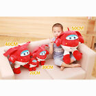 New Wings Jett Super Wings Airplane Super Robot Soft Plush Doll Toy Amazing Gift