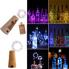 10 20 30 LED Cork Shaped Copper Wire String Lights Wine Bottle For Xmas Decor CA
