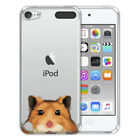 For Apple iPod Touch 5 5th/ 6 6th Gen Animal Design TPU Clear Case Cover